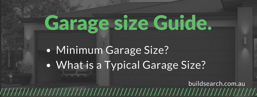 Single and double garage size guide cover image