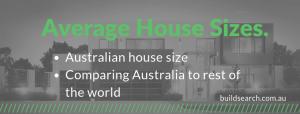 Australian standard home size