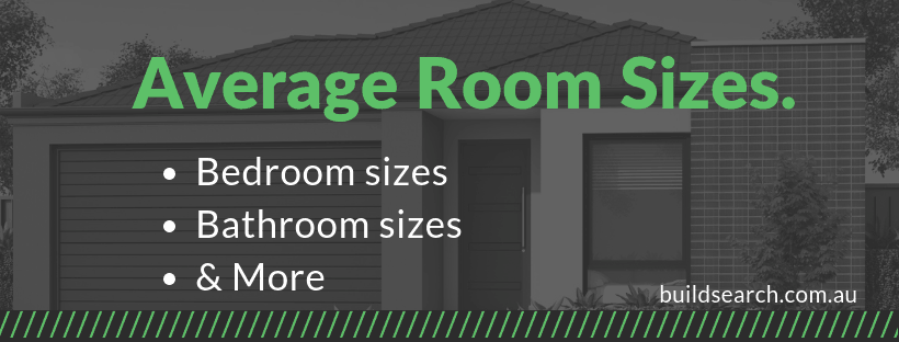Average room sizes an australian guide buildsearch for Standard living room size australia
