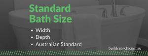 Standard Bath Size