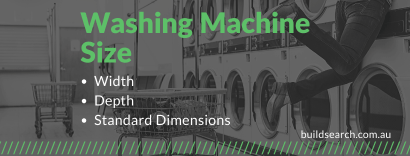 washing machine size guide