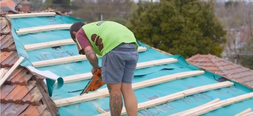 Roof Sarking Installation