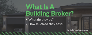 What is a building broker