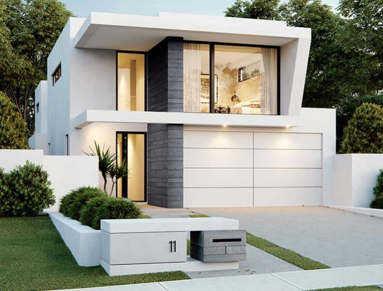 10m wide house design