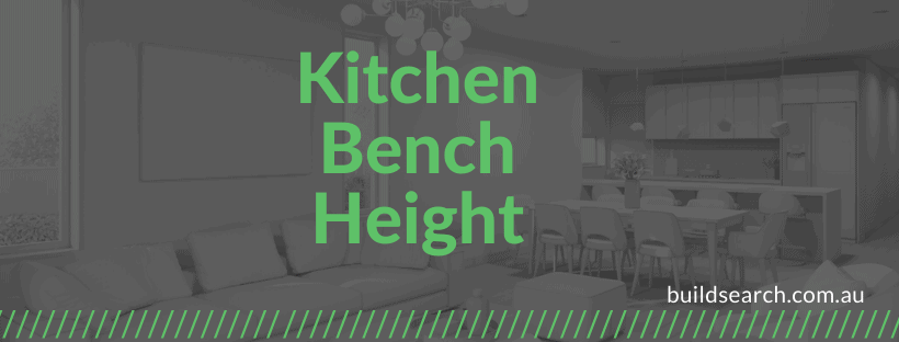 Kitchen bench Size