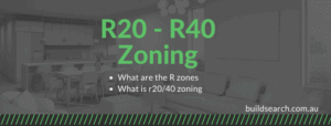 What is r20/40 zoning